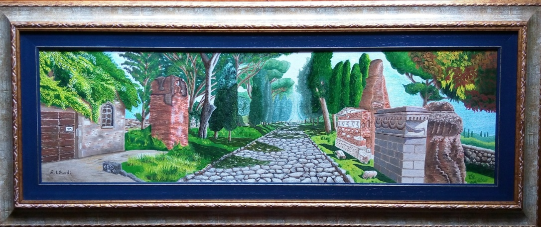 Appia antica cornice